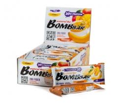 BomBBar Протеиновый батончик 60 грамм (Банановый пудинг и манго)