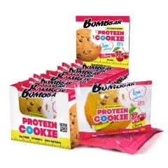BomBBar Протеиновое печенье 40 грамм (Вишня)