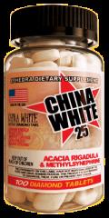 China White 25 100caps